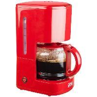 Petit Dejeuner - Cafe BESTRON ACM300HR Cafetiere filtre - Rouge