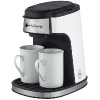 Petit Dejeuner - Cafe BLACKPEAR BCM 619 Cafetiere - 2 tasses