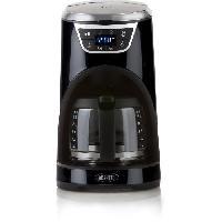 Petit Dejeuner - Cafe BORETTI B410 Cafetiere programmable - 1000W - 1.5 L - 12 tasses - Noir