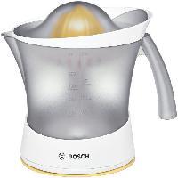 Petit Dejeuner - Cafe BOSCH - Presse agrumes - 25 W - capacité 0.8 L - réservoir transparent - fonctionnement par pression