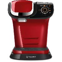 Petit Dejeuner - Cafe BOSCH - TAS6503 - Machine a cafe TASSIMO multi-boissons - Reservoir d'eau 1.3L - Arret automatique - Rouge