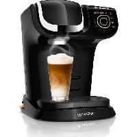 Petit Dejeuner - Cafe Machine a café multi-boissons - BOSCH TASSIMO TAS6502 - Noir
