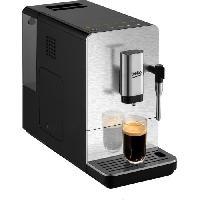 Petit Dejeuner - Cafe Machine expresso broyeur automatique - BEKO CEG5311X - Noir - Inox - Ultra compact - 1350 W - 15 bars