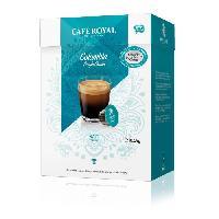 Petit Dejeuner 16 capsules de cafe Single Origine Colombie 100 Arabica