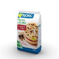 Petit Dejeuner BJORG Flocons Avoine Graines Raisins Bio 375g