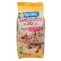 Petit Dejeuner BJORG Muesli aux fruits sans gluten 375 g