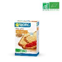 Petit Dejeuner BJORG Pain grillé au blé complet BIO 250 g