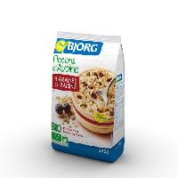 Petit Dejeuner Flocons Avoine Graines Raisins Bio 375g