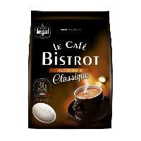 Petit Dejeuner LEGAL Cafes Bistrot Petit Noir Classique - 36 Pads