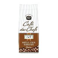 Petit Dejeuner LEGAL Cafes des Chefs Bresil Inde Burundi Grains - 250 g