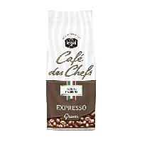 Petit Dejeuner LEGAL Cafes des Chefs Expresso Recette Italienne Grains - 250 g