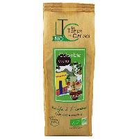 Petit Dejeuner LE TEMPS DES CERISES Cafe Grain Colombie Bio 250 g