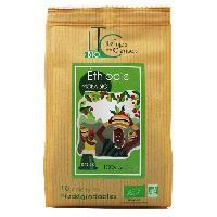 Petit Dejeuner LE TEMPS DES CERISES Cafe Moka d'Ethiopie Bio 10 capsules 50 g