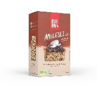 Petit Dejeuner Mulesli Mulebar Bio & Vegan 350 g : Chocolat - Coco - Aucune