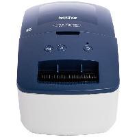 Petit Materiel BROTHER QL-600 Imprimante d'étiquettes professionnelle bleue - Idéale petite entreprise et travail a domicile