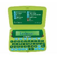 Petit Materiel SCRABBLE Dictionnaire électronique officiel LEXIBOOK - nouvelle édition