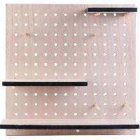 Petit Meuble Complement HOME DECO Factory Tableau mural - Etagere X3 modulable M12 MO1305