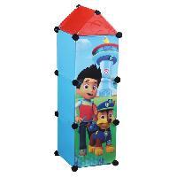 Petit Meuble De Rangement - Casier - Panier PAT PATROUILLE - Colonne rangement 3 portes - Enfant - Fun House