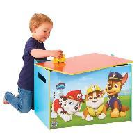 Petit Meuble De Rangement - Casier - Panier PAT PATROUILLE Coffre a jouets en bois - Worlds Apart