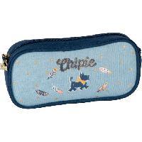 Petite Maroquinerie CHIPIE Trousse Rectangulaire Bleu Enfant