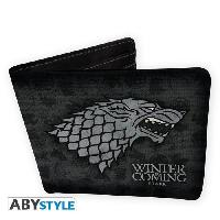 Petite Maroquinerie Portefeuille Game Of Thrones - Stark - Vinyle - ABYstyle
