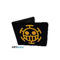 Petite Maroquinerie Portefeuille One Piece - Trafalgar Law - Vinyle - ABYstyle