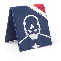Petite Maroquinerie Portefeuille pliable Captain America - Civil War- Captain America VS Iron Man