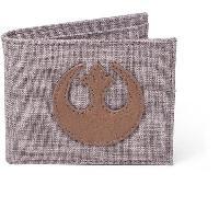 Petite Maroquinerie Portefeuille pliable en toile Star Wars- Embleme de l'Alliance Rebelle