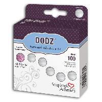 Petites Fournitures DODZTM Adhesive Dots - 100 Pastilles Pop-Up - 13mm