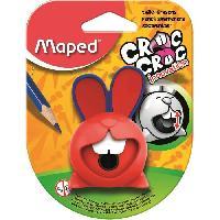 Petites Fournitures MAPED - Taille-Crayons Croc Croc Innovation 1 Trou Réserve
