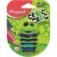 Petites Fournitures MAPED - Taille-crayons avec Réserve Croc Croc - 1 usages