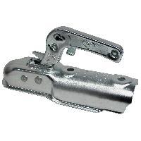 Petites Pieces Detachees De Remorque Accouplement de timon 60mm max 750kg ronde - ADNAuto