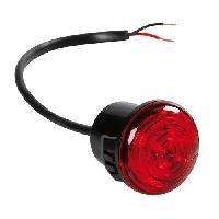 Phares - Feux - Repetiteur Lateral - Clignotants - Centrale Clignotante -  Bloc Feu Arriere - Optique De Phare - Eclairage De Pl Feu laterale encastre 1 led rouge 1224V 30x30x25mm PR-11 - Lampa