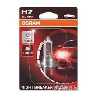 Phares - Feux - Repetiteur Lateral - Clignotants - Centrale Clignotante -  Bloc Feu Arriere - Optique De Phare - Eclairage De Pl OSRAM Lampe de phare NIGHT BREAKER SILVER H7