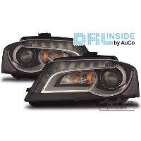 Phares Audi Projecteurs avec Feux Diurnes pour Audi A3 8P