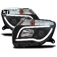 Phares Dacia Projecteurs LTI Light Tube Inside Dacia Duster - noir