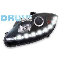 Phares Seat 2 phares avec Feux Diurnes pour Seat Leon -1P-