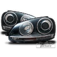 Phares VW Projecteurs Optique GTI Xenon pour VW Golf 5 - ADNAuto