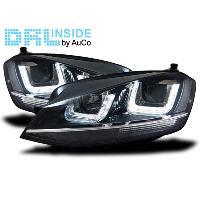 Phares VW Projecteurs avec Feux Diurnes LED VW Golf VII