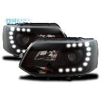 Phares VW Projecteurs avec Feux Diurnes pour VW T5 Multivan -GP- - ADNAuto