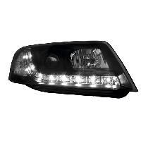 Phares de voitures 2 Feux avant Devil Eyes Adaptables Audi A6 C5 97-01 - Gamme Dayline - noir