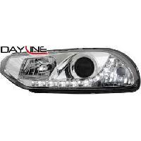 Phares de voitures 2 Feux avant Devil Eyes pour Alfa Romeo 156 - Gamme Dayline - ADNAuto