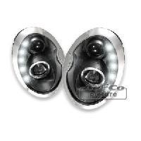 Phares de voitures 2 Phares Adaptables Mini R505053 - Noir - AuCo