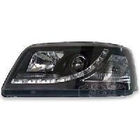 Phares de voitures 2 Phares Optique Feux Diurnes pour VW T5 - ADNAuto
