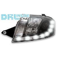 Phares de voitures 2 Phares avec Feux Diurnes pour Audi TT -8N- - ADNAuto