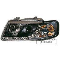 Phares de voitures 2 phares Optique Feux Diurnes pour Audi A3 -8L- - ADNAuto