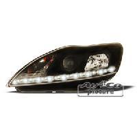 Phares de voitures 2 phares Optique Feux Diurnes pour Ford Focus II 08-11 - ADNAuto