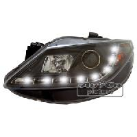 Phares de voitures 2 phares Optique Feux Diurnes pour Seat Ibiza -6J- - ADNAuto