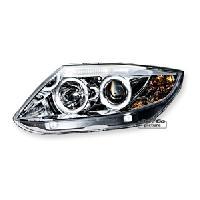 Phares de voitures 2 phares avec 2 Angel Eyes BMW Z4 - chrome