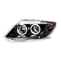 Phares de voitures 2 phares avec 2 Angel Eyes BMW Z4 - noir